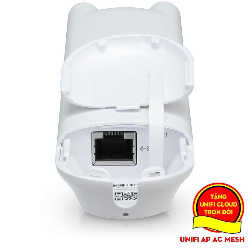[Mã 267ELSALE hoàn 7% đơn 300K] Bộ Phát Wifi Unifi AP AC Mesh - Hai băng tần chuẩn AC - Tốc độ 1167Mbps - Tải 100 User