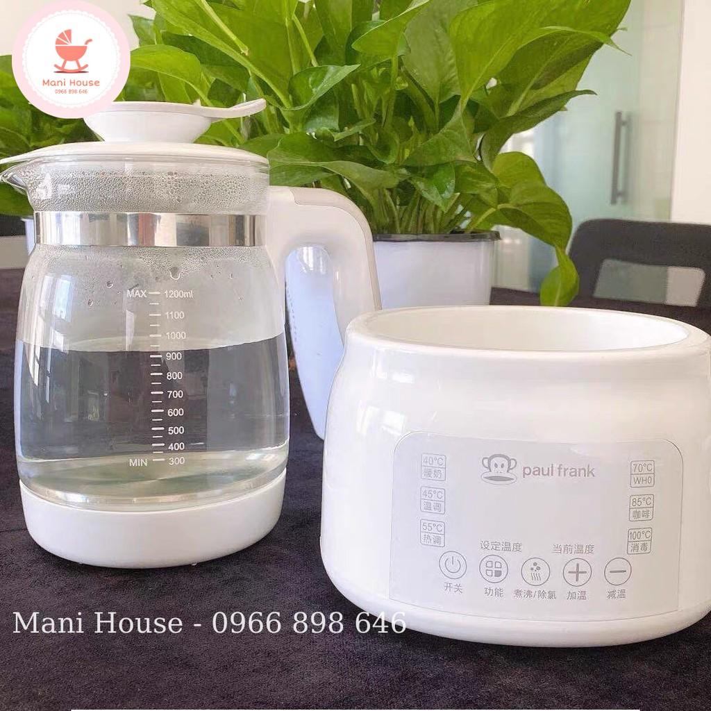 [TẶNG KHAY HÂM SỮA] Máy hâm nước pha sữa PAUL FRANK khử Clo nước, điều chỉnh nhiệt độ, tiệt trùng bình sữa cho bé