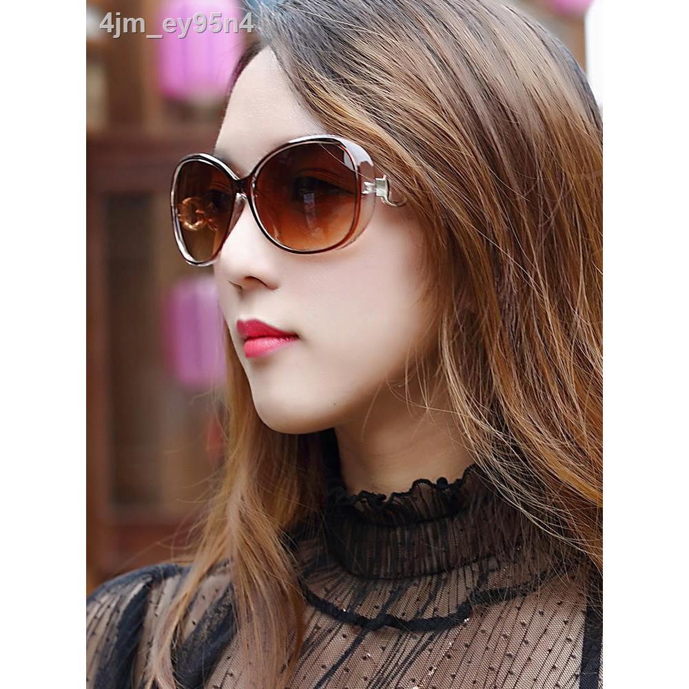 ☇Kính râm nữ 2021 mát mới thời trang street style phiên bản Hàn Quốc của Phong cách cổ điển Harajuku...