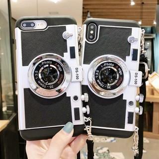 Ốp Điện Thoại Hình Máy Ảnh 3D Cổ Điển Cho Iphone 13 Se 2020 11 12 Pro Max X Xs Xr 6 6s 7 8 Plus