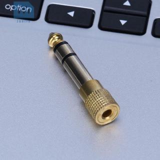 Jack Cắm Chuyển Đổi Từ Đầu Cắm 3.5mm Sang Cổng Cắm 6.5mm