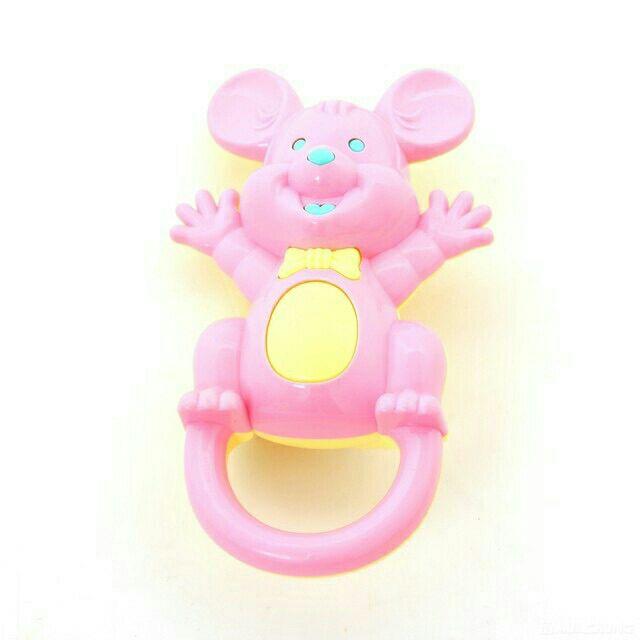 Lục lạc nhựa chuột mickey