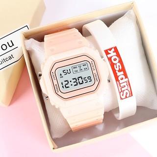 Đồng hồ điện tử nam nữ Sppors khung 6 số QA737 thumbnail