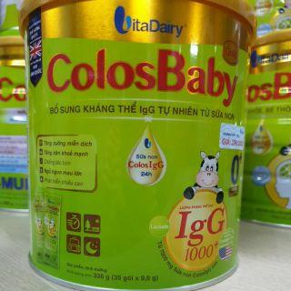 Sữa bột ColosBaby Gold 0 Dạng Gói Tiện Lợi giá lẻ 1 gói