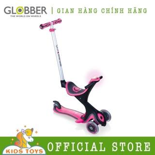 Xe trượt scooter GLOBBER EVO COMFORT PLAY Hồng