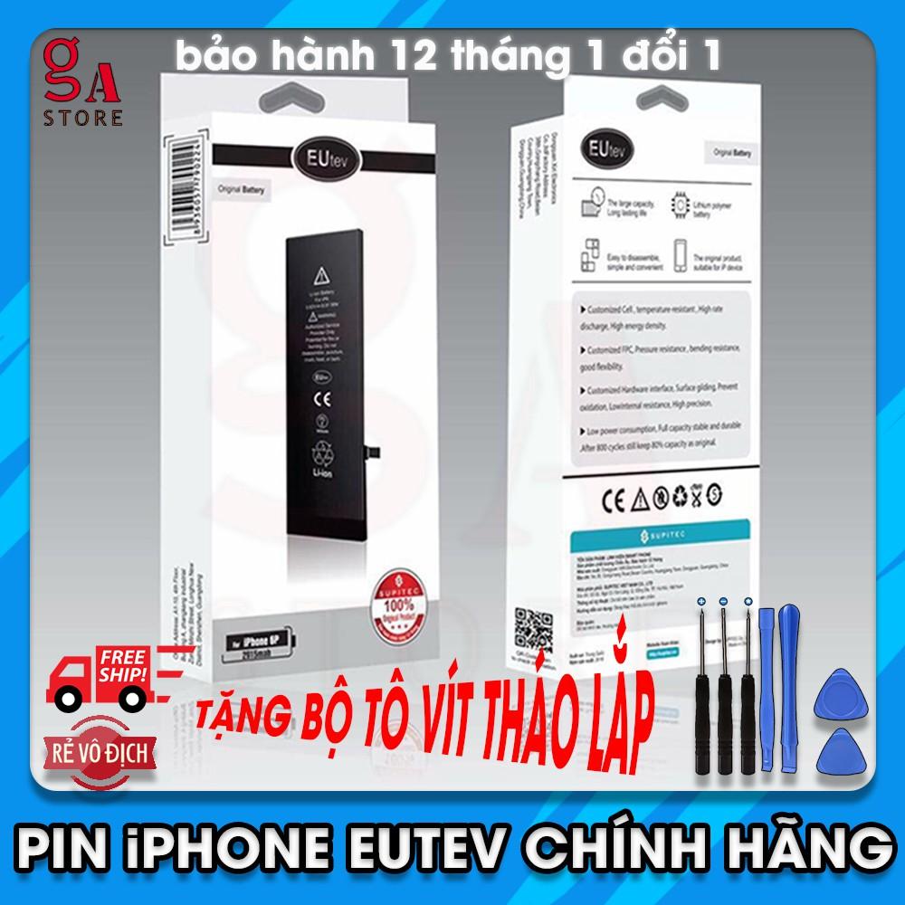 [Hỗ trợ thay] Pin iPhone EUtev chính hãng (xuất khẩu EU),cho iphone4,4s,5,5s,6,6s,6plus,6splus,7,7plus,8,8plus,iphone x