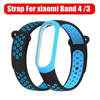 Dây đeo đồng hồ bằng silicon thay thế cho Miband 3 4 thumbnail