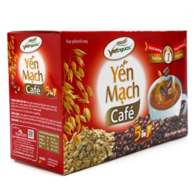 Yến mạch cà phê Việt Ngũ Cốc 360g
