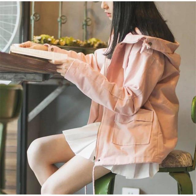 Áo khoác nữ Kaki cực hot