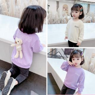 personality long-sleeved sweaters special sweater children classic girls' sweaters sweet Korean version low price high