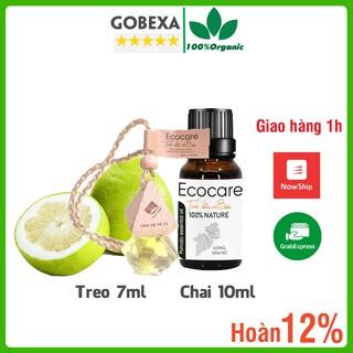 Tinh dầu bưởi Ecocare nguyên chất trị rụng tóc, làm đẹp, chai 10ml, treo 7ml thumbnail