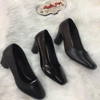 Giày nữ cao gót từ 3p-7p. Giayg nữ mũi vuông