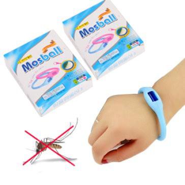 Vòng tay đuổi muỗi có tinh dầu Mosball KB016-2656 Sale off 20%