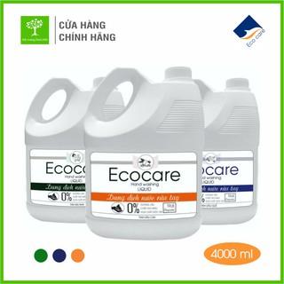 [FREESHIP 100%] Nước Rửa Tay Bồ Hòn Hữu Cơ ECOCARE 4 lít - Sạch khuẩn, chăm sóc da tay, tinh dầu khử mùi thumbnail