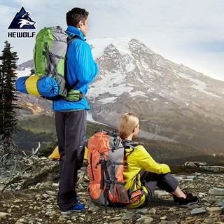 Balo du lịch leo núi dã ngoại ngoài trời chính hãng Hewolf B1650 (50 lít) thumbnail