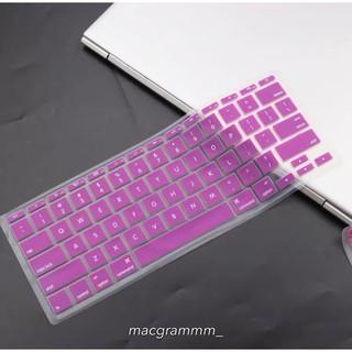 Phủ phím bảo vệ macbook - màu hồng tím thumbnail