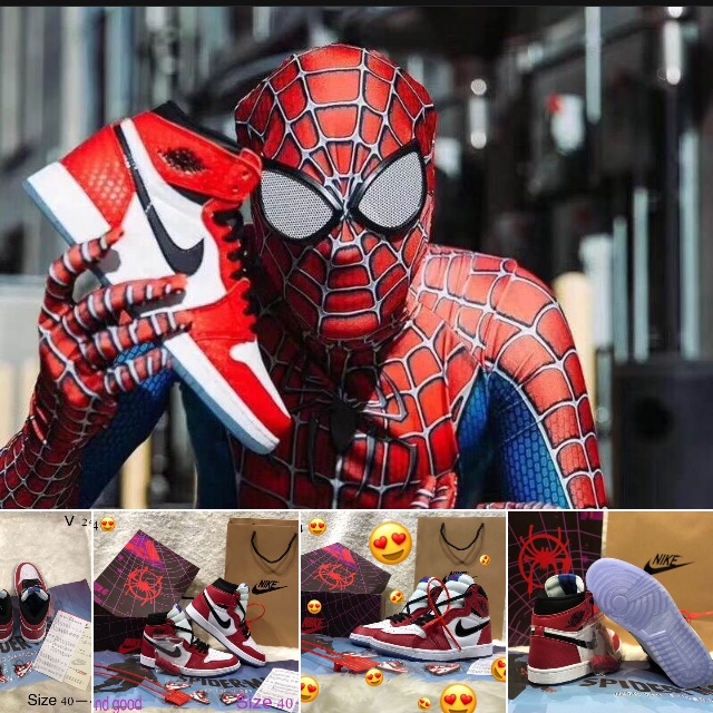 Nike Air Jordan Spiderman Set Size 40-45