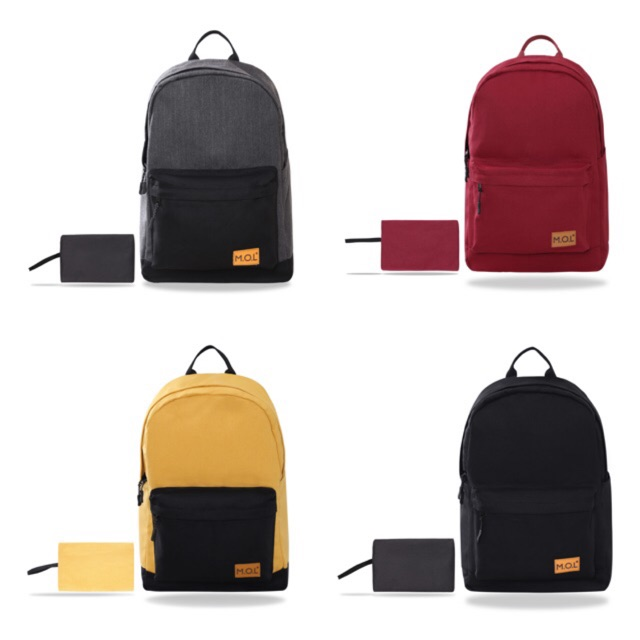 Balo : M.O.L Basic Backpack- Canvas