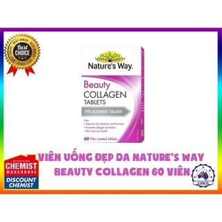 Viên uống đẹp da Collagen Beauty Nature s Way 60 viên thumbnail