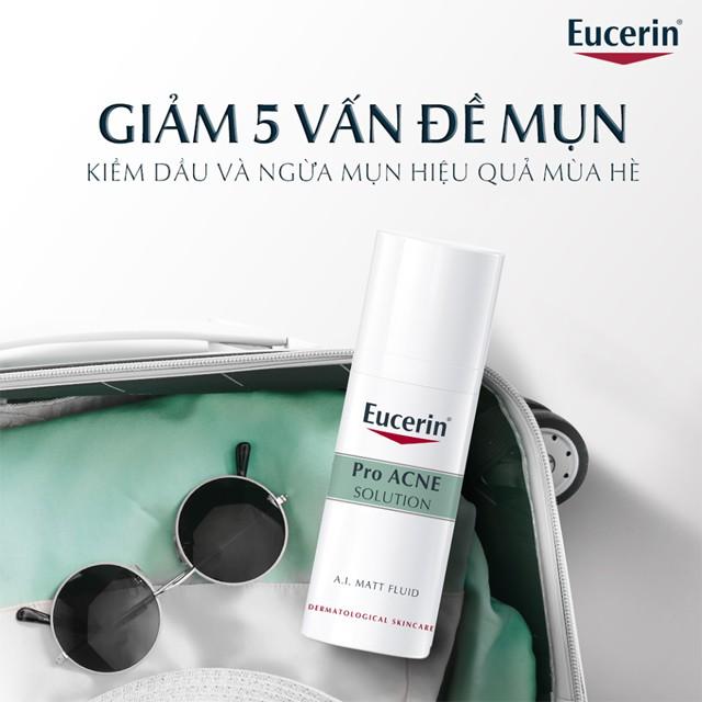 Giá bán Kem giúp kiểm soát dầu, giảm mụn Eucerin Pro Acne A.I Matt Fluid