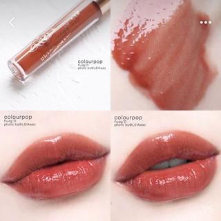 Son bóng colourpop Ultra Glossy Lip FUDG D thumbnail