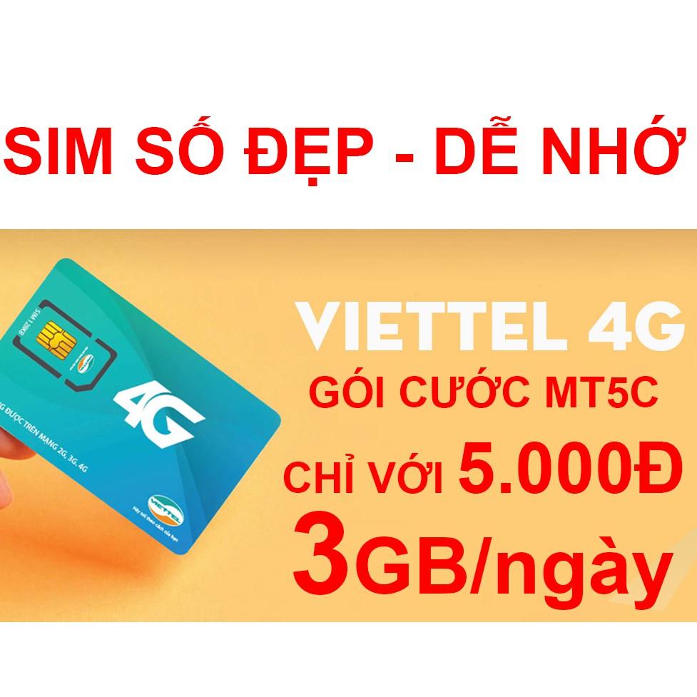 Sim 4G Viettel Số đẹp - Đăng ký được gói MT5C - 3034251 , 423828556 , 322_423828556 , 250000 , Sim-4G-Viettel-So-dep-Dang-ky-duoc-goi-MT5C-322_423828556 , shopee.vn , Sim 4G Viettel Số đẹp - Đăng ký được gói MT5C