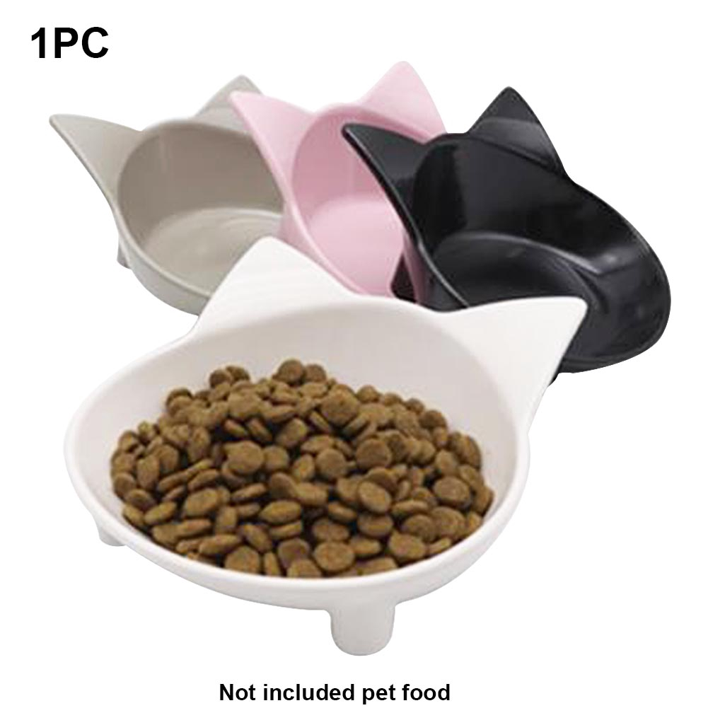 Cat Shape Bowl Dog Home Food Container Pet Supplies Cute Non-toxic Water Anti-slip