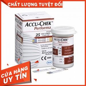Hộp 25 que thử đường huyết Accu-Check Performa - 14241476 , 2351380298 , 322_2351380298 , 350000 , Hop-25-que-thu-duong-huyet-Accu-Check-Performa-322_2351380298 , shopee.vn , Hộp 25 que thử đường huyết Accu-Check Performa
