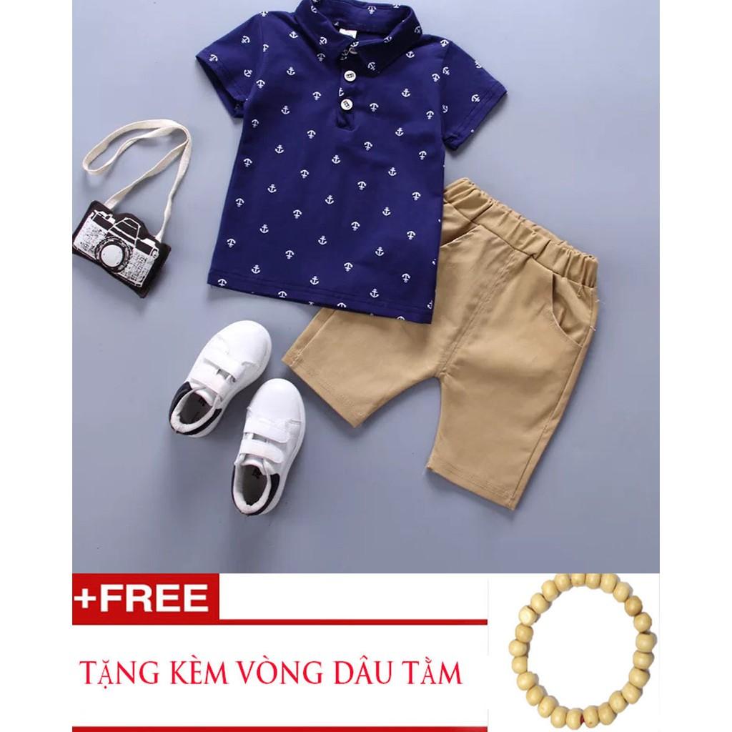 Bộ quần áo mùa hè cho bé trai HQ- Tặng vòng dâu tằm cho bé - 3345782 , 1090469801 , 322_1090469801 , 230000 , Bo-quan-ao-mua-he-cho-be-trai-HQ-Tang-vong-dau-tam-cho-be-322_1090469801 , shopee.vn , Bộ quần áo mùa hè cho bé trai HQ- Tặng vòng dâu tằm cho bé