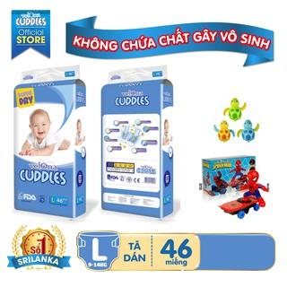 COMBO 2 Tã Dán Velona Cuddles FREESHIP Bi m Da n Bịch Cỡ Đại S64,M54,L46 thumbnail