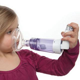 [SIEU SALE] Buồng đệm, buồng hít hen suyễn (Babyhaler) Philips MỸ Respironics thumbnail