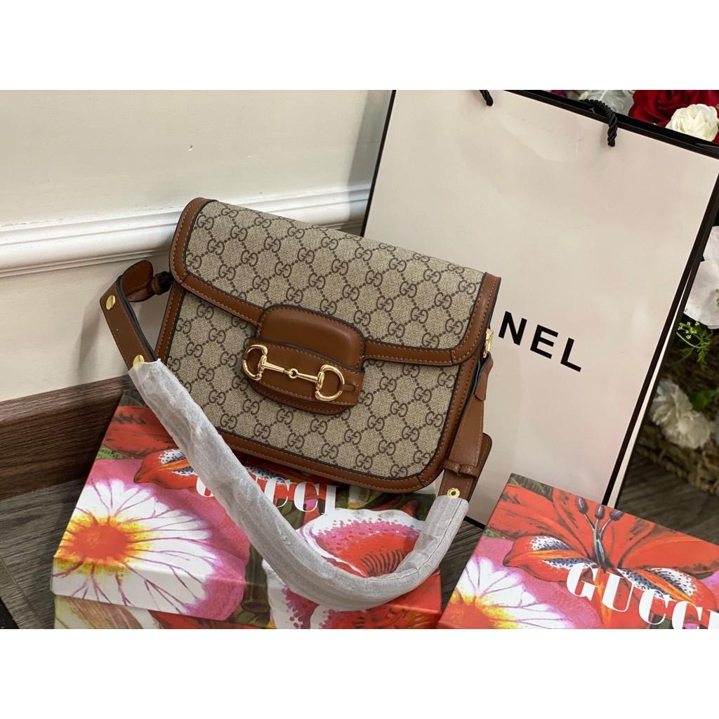 Túi xách đeo chéo Gucci Horsebit 1955 siêu đẹp siêu xinh