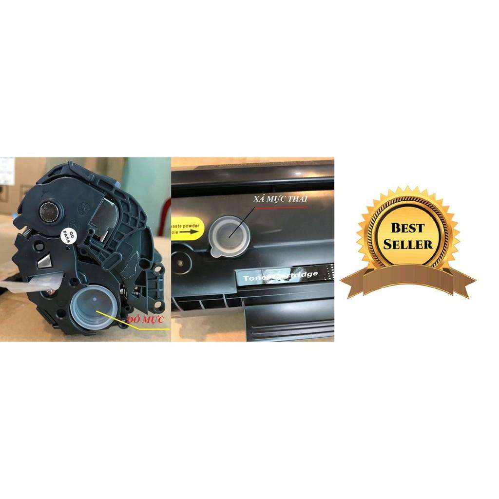 Hộp Mực In 12A Dùng Cho Máy In Canon 2900,3000 (Có Lỗ Nạp Mực/Không Cần Đến Bộ Dụng Cụ Đổ Mực)