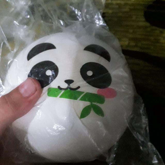 squishy màn thầu panda 10cm