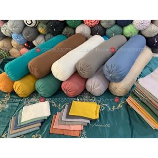 Vỏ Gối Ôm Basic Cotton TC Dây Rút thumbnail