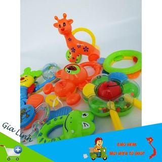 [SALE KHỦNG] Bộ đồ chơi xúc xắc 8 món vui nhộn