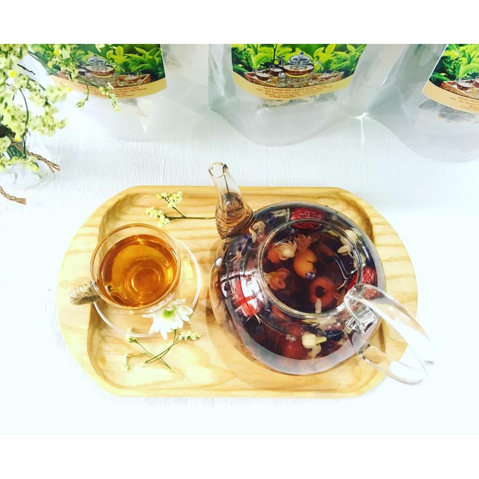 Trà hoa cúc-Trà hoa cúc hoa khô sấy lạnh-Đồ uống bảo vệ sức khỏe