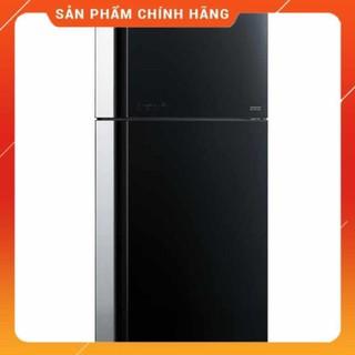 [ FREE SHIP KHU VỰC HÀ NỘI ] Tủ lạnh Hitachi 2 cửa màu đen đá tự động R-FG690PGV7X(GBK)