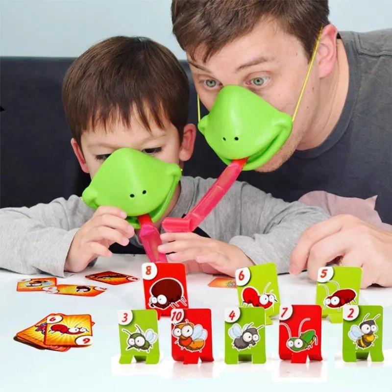 Bộ đồ chơi lưỡi tắc kè tương tácvui nhộn với bé