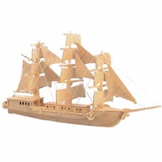 Đồ Chơi Lắp Ráp Gỗ 3D – Mô Hình Thuyền Biển