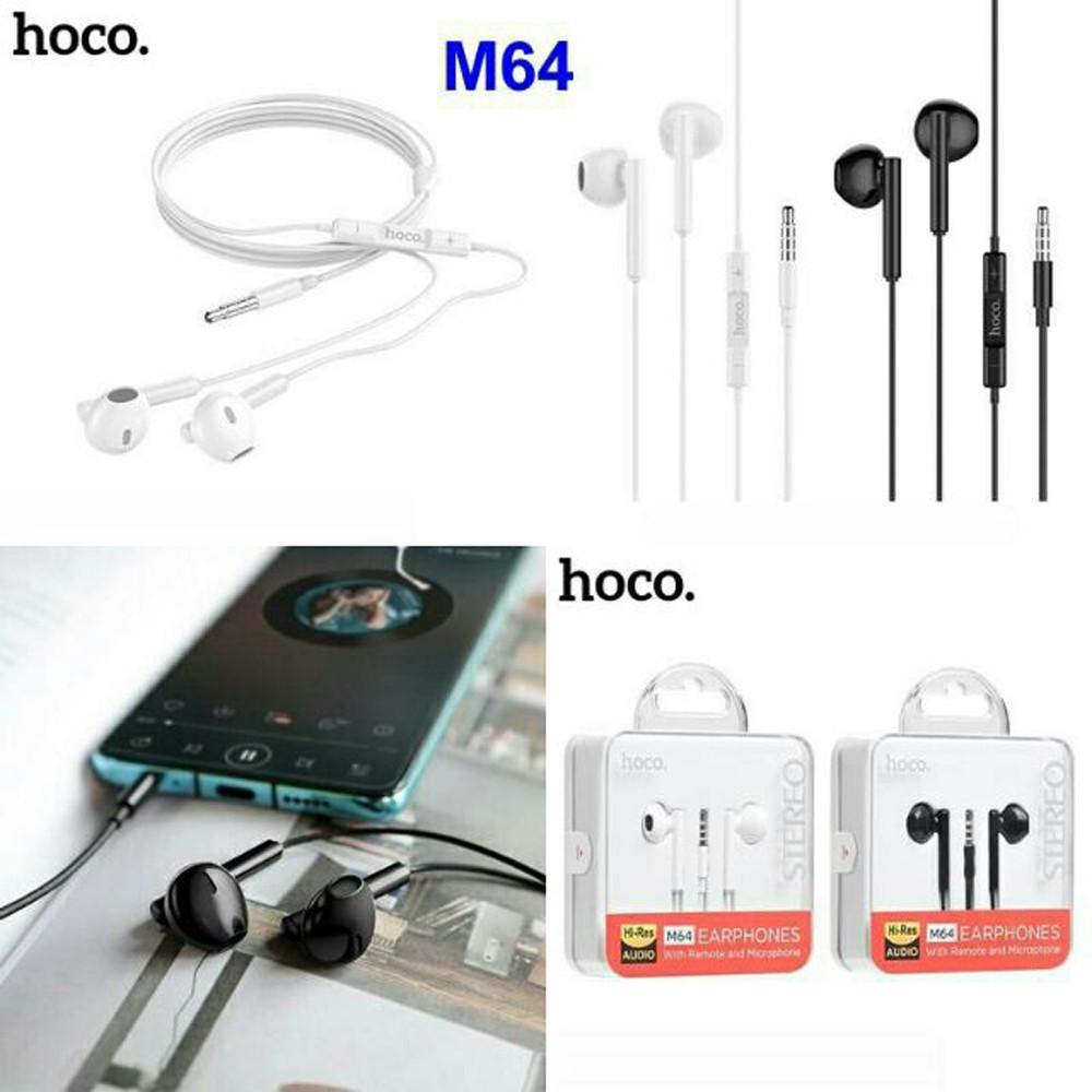 Tai nghe điện thoại chính hãng Hoco M64 ♥️Freeship♥️ Giảm 30k khi nhập MAYT30 - Tai nghe có dây chính hãng giá rẻ