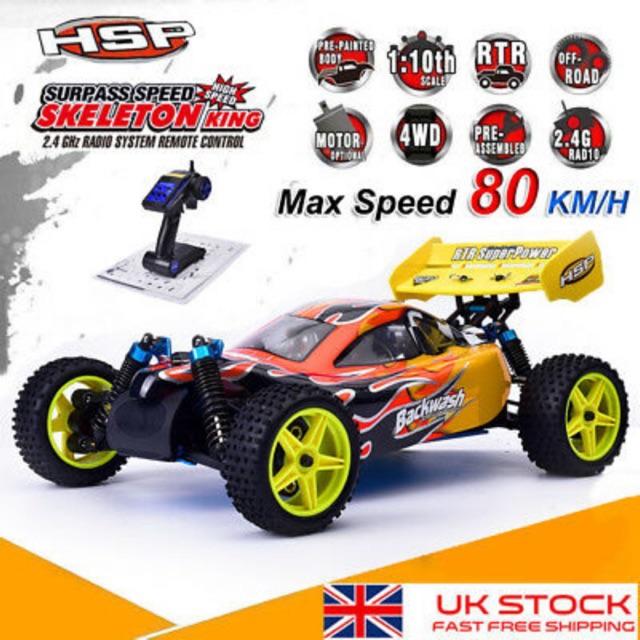 Xe điều khiển chạy xăng buggy 94166 tỉ lệ 1/10 80km/h