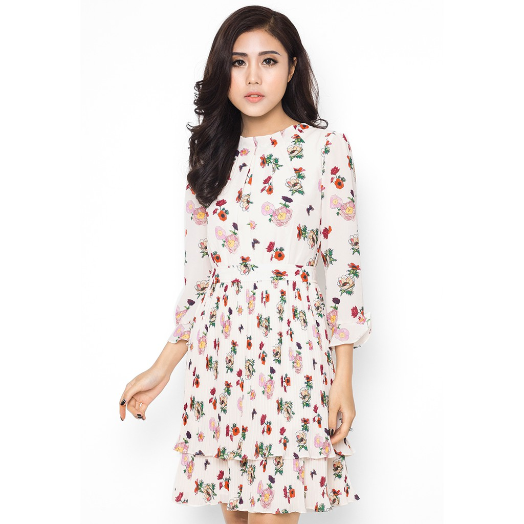 Đầm Mimi - LAYERED FLORAL DRESS - W17DRS0006FL
