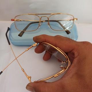 Kính lão gọng dẻo có độ 0.5-4 độ cho người già kính viễn thị gọng titan