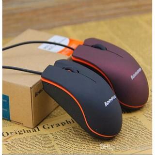 [CHÍNH HÃNG] Chuột máy tính Lenovo Model M20, dây cắm USB, bề mặt chống bám mồ hôi