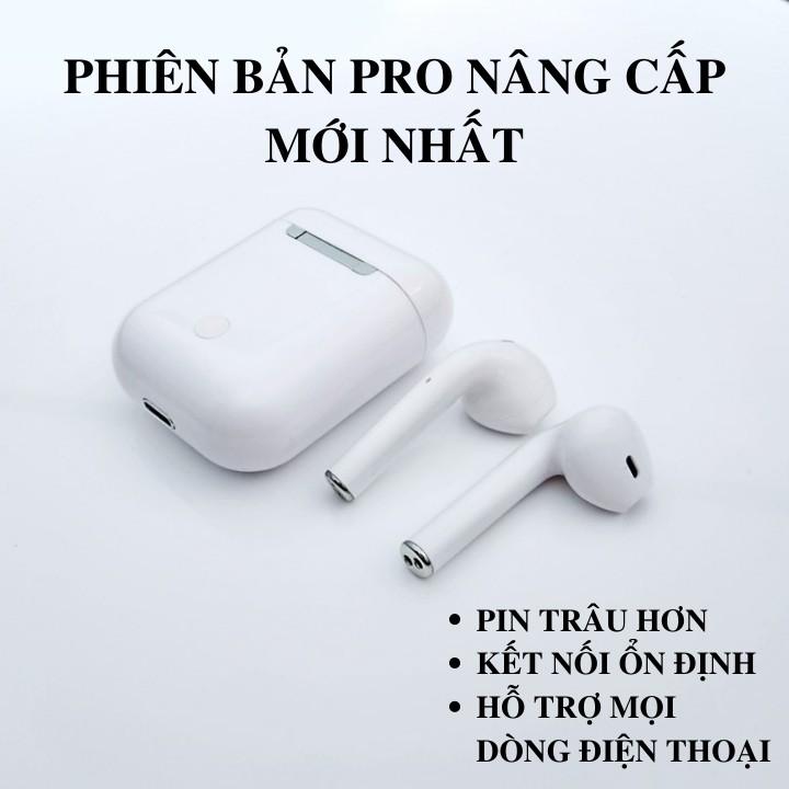 Tai nghe Bluetooth i12 Phiên Bản Nâng Cấp Có Cửa Sổ Kết Nối Hiển Thị Pin, Nút Cảm Ứng, Pin Trâu