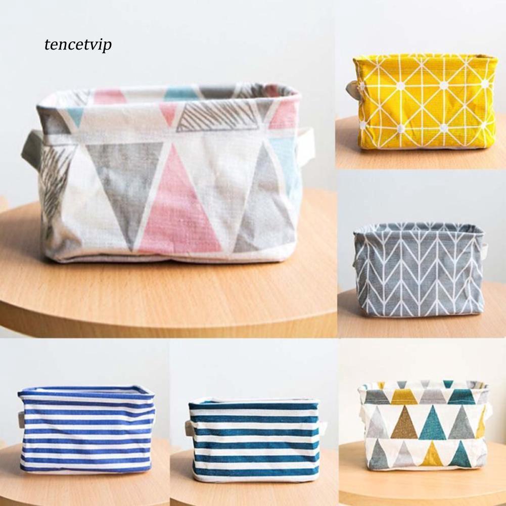 Túi vải đựng vật dụng tiện lợi xinh xắn