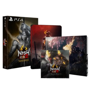 Đĩa game ps4 Nioh 2 steelbook thumbnail