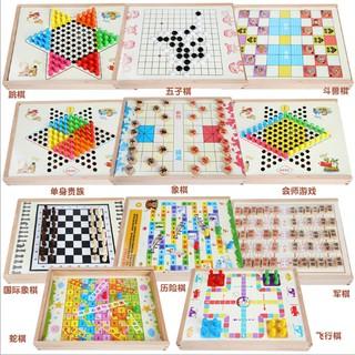 Bộ cờ đa năng, cờ vua 11 trong 1, cờ vua 6 trong 1