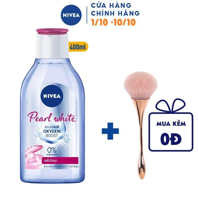 Nước Tẩy Trang NIVEA Làm Sáng Da Pearl White Micellar Water – 400ml – 84912